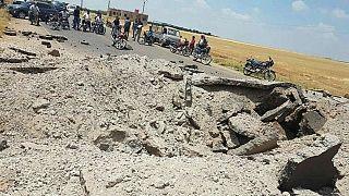 Suriye'de bit otobüse bombalı saldırı (arşiv fotoğrafı)