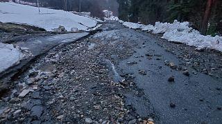 Desastre en un pueblo de noruega por un corrimiento de tierra