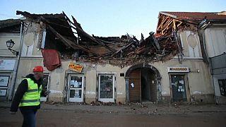 Κροατία: Άστεγοι πληγέντες από το σεισμό