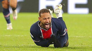 PSG'li oyuncu Neymar