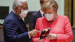 Presidenza Ue, il cambio della guardia tra Germania e Portogallo