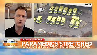 Martin Berry represents the College of Paramedics in the UK