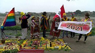 Pérou : cérémonie chamanique pour 2021