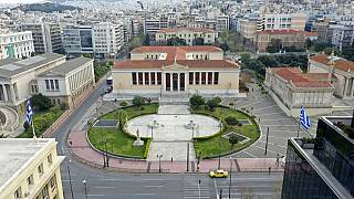 Athens University headquarters building