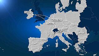Da Dublino verso l'Europa continentale.