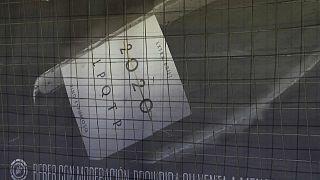 Imagen de un cartel publicitario del vino espumoso 2020 LPQTP