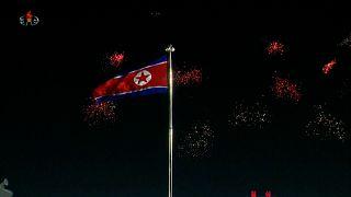 North Koreans celebrate 2021 New Year