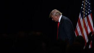 الرئيس الأمريكي المنتهية ولايته، دونالد ترامب