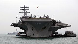 ABD uçak gemisi USS Nimitz