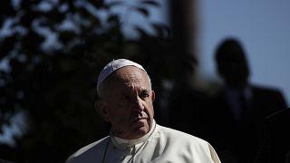 البابا فرنسيس في الفاتيكان