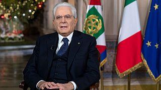 Il Presidente Sergio Mattarella in una foto d'archivio