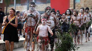 Avustralya yerlileri Aborjinler / Arşiv