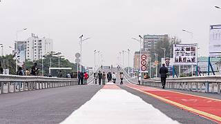Relief for motorists as Congolese President inaugurates interchange project