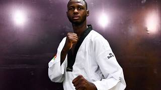 Niger's Abdoulrazak Alfaga aims for Olympic gold in Taekwondo in Tokyo
