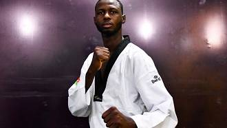 Niger's Abdoulrazak Alfaga aims for Olympic gold in Taekwondo in Tokyo