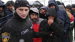 Huzavona a lipai menekültek körül