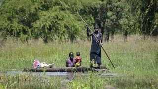 Güney Sudan'ın Jonglei eyaletinde seller nedeniyle bir milyon kişi aylardır mahsur kalmış durumda