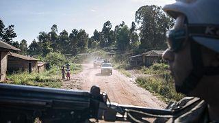 Kongo Demokratik Cumhuriyeti'nde askerler