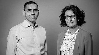 Covid-19 aşısını geliştiren Alman BioNTech firmasının Türk asıllı kurucu ortakları Dr. Uğur Şahin ve Dr. Özlem Türeci