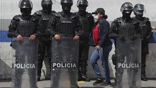 شرطة مكافحة الشغب في كيتو، الإكوادور