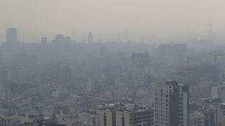 آلودگی هوای ایران