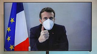 Macron, who had COVID-19 before Christmas, urged the French to limit contacts and remain vigilant to keep infections under control during the holiday season