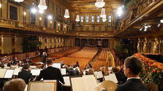 Filarmónica de Viena dá as boas-vindas a 2021