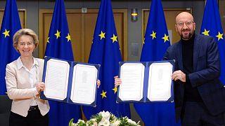 توافق پسابرکسیت در دستان رئیس شورا و رئیس کمیسیون اتحادیه اروپا