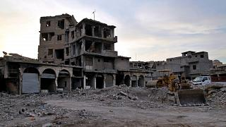 مدينة الموصل العراق بعد خروج تنظيم الدولة الإسلامية.