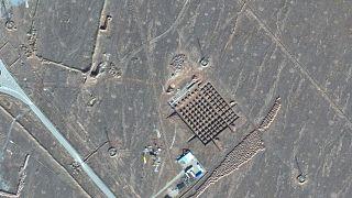 İran'ın Fordo Nükleer tesisleri (Maxar Technologies / Uydu görüntüsü)