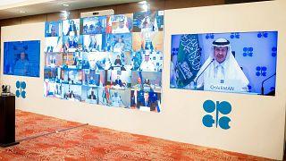 الاجتماع الاستثنائي الافتراضي لمنظمة البلدان المصدرة للبترول (أوبك) والدول غير الأعضاء فيها