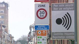 Βρυξέλλες: Με 30 χιλιόμετρα την ώρα στους δρόμους της πόλης