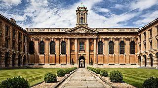 İngiltere'deki Oxford Üniversitesi kampüsü.