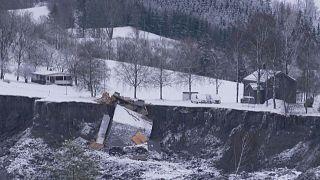 Megtalálták a norvégiai földcsuszamlás ötödik áldozatát