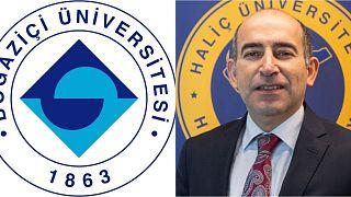 Boğaziçi Üniversitesi logosu/Prof. Dr Melih Bulu