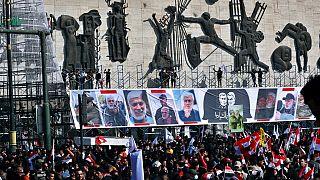 آلاف العراقيين يحيون الذكرى الأولى لاغتيال قاسم سليماني