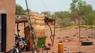 قرية في النيجر- أرشيف