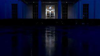 Der Westflügel des White House im Januar 2021