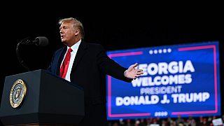"""Las presiones de Trump para """"recalcular"""" los votos y ganar en Georgia"""