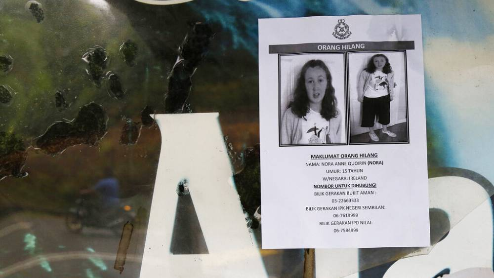 Malaysia says no one else involved in French-Irish teen's death