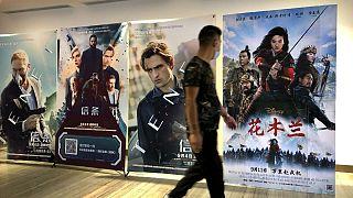 تبلیغ فیلمهای آمریکایی در پکن