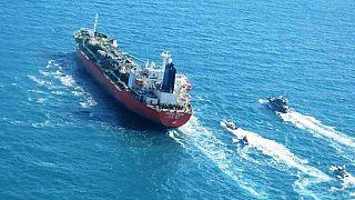 نفتکش توقیف شده کره جنوبی توسط سپاه پاسداران ایران