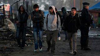 تخلیه پناهجویان از اردوگاههای شمال فرانسه