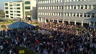 Boğaziçi Üniversitesinde protesto