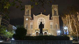 Ortodox katedrális Athénban