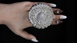 A 12 638 gyémántot tartalmazó Marigold