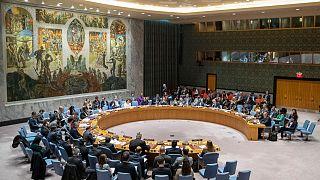 مجلس الأمن الدولي يعقد جلسة بشأن الشرق الأوسط. 2019/11/20