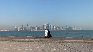 إعادة فتح الحدود  بين السعودية وقطر