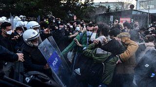 اعتراض دانشجویان در ترکیه
