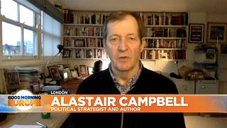Alastair Campbell, former Downing Street Director of Communications